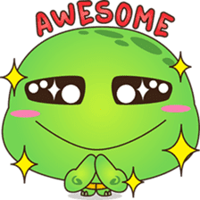 Pura, the funny turtle, version 5 sticker #6705248