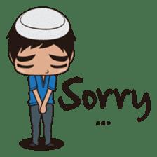 Ben : Muslim Boy sticker #6707336