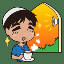 Ben : Muslim Boy sticker #6707339