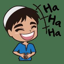 Ben : Muslim Boy sticker #6707341