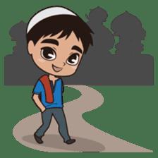 Ben : Muslim Boy sticker #6707343