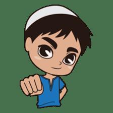 Ben : Muslim Boy sticker #6707348