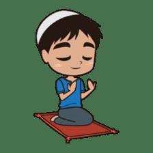 Ben : Muslim Boy sticker #6707356