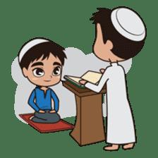 Ben : Muslim Boy sticker #6707358
