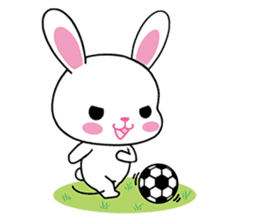 Rabbits with Italian phrases & gestures sticker #6708208