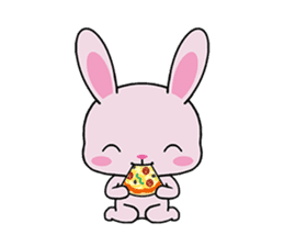 Rabbits with Italian phrases & gestures sticker #6708215