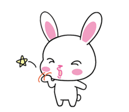 Rabbits with Italian phrases & gestures sticker #6708222