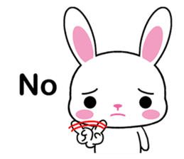 Rabbits with Italian phrases & gestures sticker #6708231