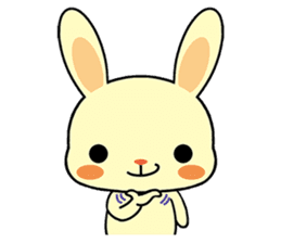 Rabbits with Italian phrases & gestures sticker #6708238