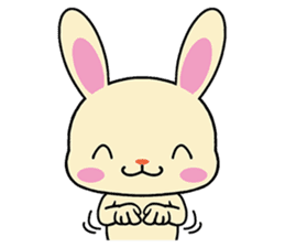 Rabbits with Italian phrases & gestures sticker #6708239