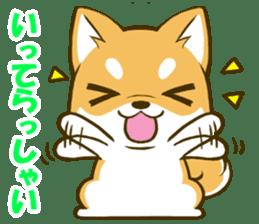 Japanese Shiba Inu tan sticker #6710290