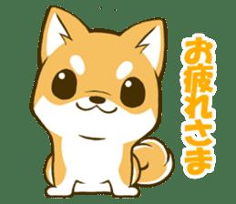 Japanese Shiba Inu tan sticker #6710293