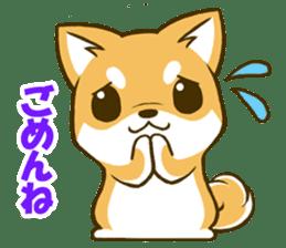Japanese Shiba Inu tan sticker #6710297