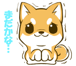 Japanese Shiba Inu tan sticker #6710317