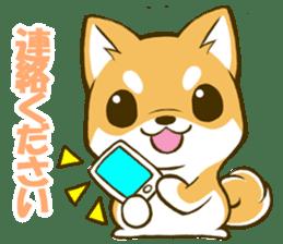 Japanese Shiba Inu tan sticker #6710318