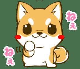 Japanese Shiba Inu tan sticker #6710320
