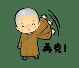 Little Monk Miao Miao ch new sticker #6713329