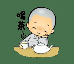 Little Monk Miao Miao ch new sticker #6713343