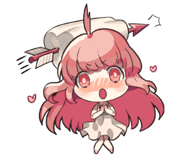 Daily lives of the cute Index sisters sticker #6713427