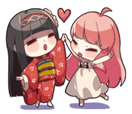 Daily lives of the cute Index sisters sticker #6713435