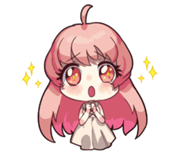 Daily lives of the cute Index sisters sticker #6713437
