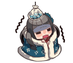 Daily lives of the cute Index sisters sticker #6713445