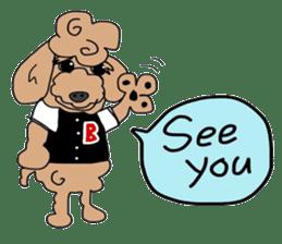 Rock'n'roll dogs English ver. sticker #6714692