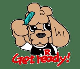 Rock'n'roll dogs English ver. sticker #6714702