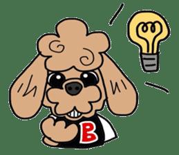 Rock'n'roll dogs English ver. sticker #6714707