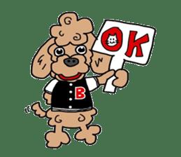 Rock'n'roll dogs English ver. sticker #6714708