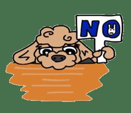 Rock'n'roll dogs English ver. sticker #6714709