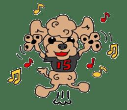 Rock'n'roll dogs English ver. sticker #6714713
