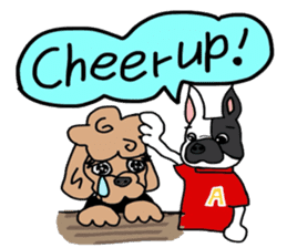Rock'n'roll dogs English ver. sticker #6714720