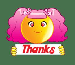 Wig Girl vol.1 sticker #6715745