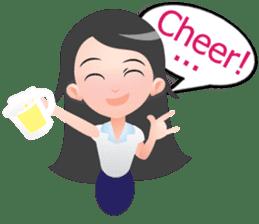 J.Mei :Daily Lifestyle.(English Version) sticker #6716380