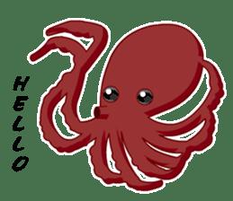 Dancing Octopus sticker #6716609