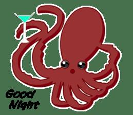 Dancing Octopus sticker #6716611