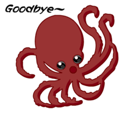 Dancing Octopus sticker #6716612