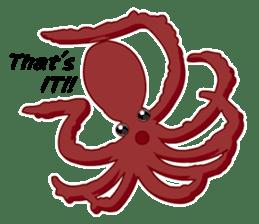 Dancing Octopus sticker #6716617