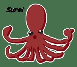 Dancing Octopus sticker #6716637