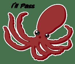 Dancing Octopus sticker #6716640