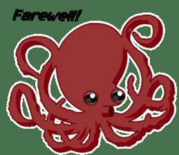 Dancing Octopus sticker #6716646