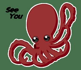 Dancing Octopus sticker #6716647