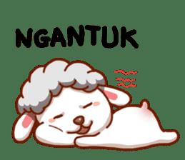 Yandee cute sheep sticker #6719611