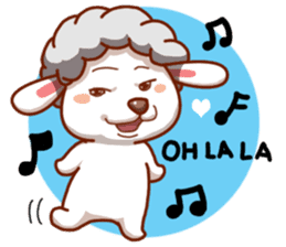 Yandee cute sheep sticker #6719613