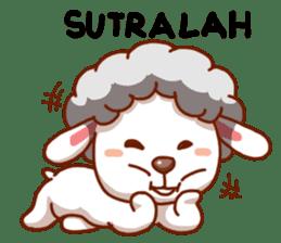 Yandee cute sheep sticker #6719614