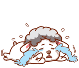 Yandee cute sheep sticker #6719615