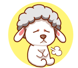 Yandee cute sheep sticker #6719619