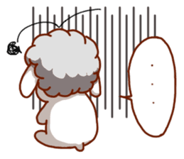 Yandee cute sheep sticker #6719625
