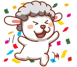 Yandee cute sheep sticker #6719627